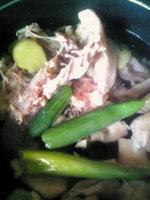 鶏がらスープ材料